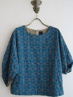 Shibori [quilting] stitching.