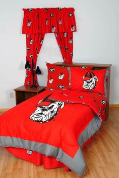 With Team Colored Sheets Comfy Feet KENBBTW Kentucky Bed in a Bag Twin