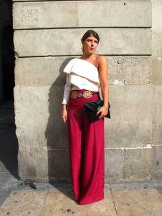 Burgundy y blanco Love Fashion, Girl Fashion, Fashion Outfits, Womens Fashion, Special Dresses, Formal Dresses, Wedding Dresses, Dress Codes, Cool Outfits