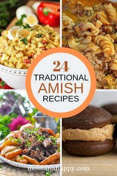 24 Traditional Amish Recipes Authentic Dishes 24 Traditional Amish Recipes Authentic Dishes Pennsylvania Dutch cooking will have you licking your plate Here are 24 rec. Lunch Recipes, Crockpot Recipes, Breakfast Recipes, Dinner Recipes, Cooking Recipes, Steak Recipes, Grandma's Recipes, Flour Recipes, Meatloaf Recipes