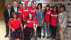 Esta mañana se ha celebrado en Mérida en la Presidencia de la Junta de Extremadura el acto de presentación de los deportistas extremeños preseleccionados en los Juegos Paralímpicos de Río de Janeiro 2016.