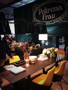 @Poltrona Frau There's no reason to not pass by HALL 20-STAND 07-D19 @iSaloni #milandesignweek