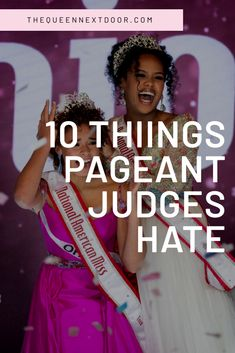 New pageant contestants: don't do these things! National American Miss Beauty Pageant Questions, Pageant Interview Questions, Pageant Interview Dress, Pageant Tips, Beauty Pageant Hair, Pageant Hair Updo, Pageant Makeup, Pageant Shoes, Pageant Dresses For Teens