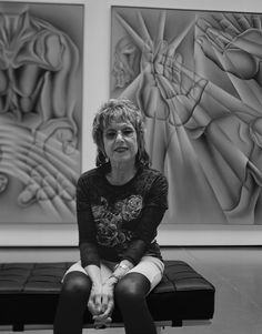 Judy Chicago, July 6, 2012 photo by Barbara Yoshida