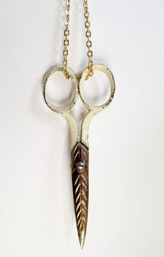 Antique Scissors on a Necklace