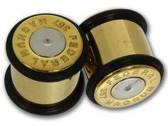 Plugs Bullet Gold