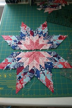 Pinwheels in the Park Quilt Pattern | Star Quilts | Pinterest : simple star quilt pattern - Adamdwight.com