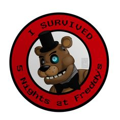 I Survived Five Nights at Freddy's by THE-Z0MBIE-CAT on deviantART