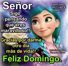 Buenos Deseos para TI y para MÍ: * Señor, sigo pensando que eres Maravilloso!!!