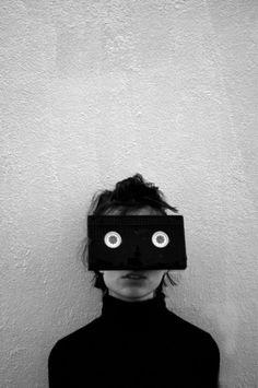 black & white film.