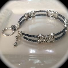 Elegant Memory Wire Bracelet                                                                                                                                                      More #WireJewleryIdeas
