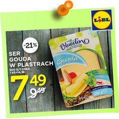 - Najtańsze  Produkty -: Ser Gouda w plastrach 7,49 zł