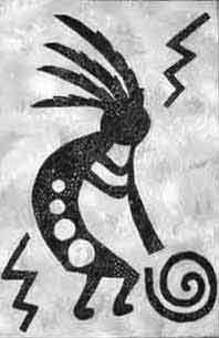 In ancient Indian legend, Kokopelli the flute player was the symbol of happiness and joy. Description from pinterest.com. I searched for this on bing.com/images
