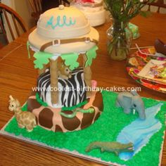 This would be perfect for our safari theme with a 2 on the zebra part