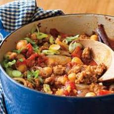 Turkey Chili Recipe - light on the spice for kids
