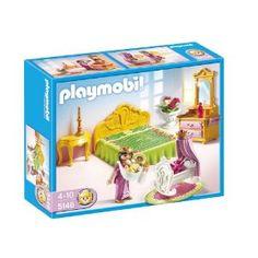 Playmobil - 5146 - Jeu de construction - Chambre de la reine avec berceau: Amazon.fr: Jeux et Jouets