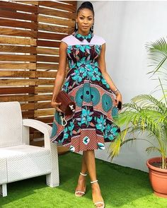These are the most elegant ankara gown styles there are today, every lady who loves ankara gowns should see these ankara gown styles of 2019 Short African Dresses, Ankara Short Gown Styles, Trendy Ankara Styles, Short Gowns, African Print Dresses, African Skirt, African Fashion Ankara, African Inspired Fashion, Latest African Fashion Dresses