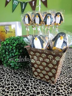 Razzle Dazzle Party Box: Madagascar themed movie party ideas - Theme your next family movie night with this tip from Southern Outdoor Cinema.