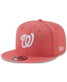 New Era Washington Nationals Neon Time 9FIFTY Snapback Cap - Orange  Adjustable Washington Nationals 366b95a30cc