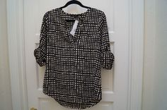 This top from a blogger's stitch fix would be perfect for work!