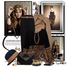 """""""Leopard Love"""" by brendariley-1 on Polyvore"""