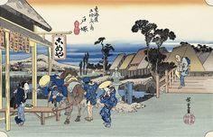 戸塚 元町別道 歌川広重 東海道五十三次 浮世絵のアダチ版画オンラインストア