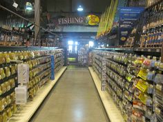 Before going shopping check out Bass Pro Shops fishing department