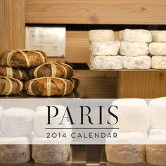 SALE 2014 Paris Calendar French Wall Calendar by TheParisPrintShop, $18.00