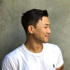 Asian Men Hairstyles: 28 Popular Haircut Ideas #asianhairstyles #asianhaircuts #asianmanbun #asianundercut #asianfadehaircut #menshairstyles #menshair #menshaircuts #koreanhaircut #koreanhairstyle #eboy #eboyhaircut #kpop #kpophairstyle Asian Fade Haircut, Asian Undercut, Korean Haircut, Crop Haircut, Asian Hairstyles, Asian Men Hairstyle, Men Hairstyles, Haircuts For Men, Mens Haircuts Receding Hairline