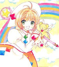 Cardcaptor Sakura with Rainbow So Beautiful. ❤