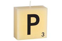 """""""P"""" Scrabble Letter"""