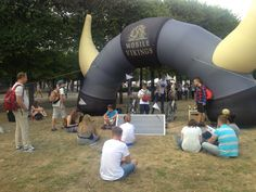 Eko ładowarnia dla Mobile Vikings @ MeetUP 2015 #ecoevent #ładowarnia #chargingstation #eventideas #ecoeventideas