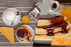 Fotografía de productos / gastronomía - Desayuno americano - Pancakes