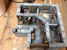 """""""The Prison"""" using Hirstarts molds"""