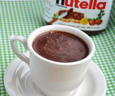 Chocolate Quente com Nutella | Gordelícias