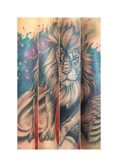 Leon tattoo lyon tatuaje