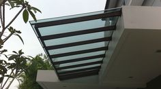 polycarbonate roofing. Attaches to fascia. No posts required.#roofing