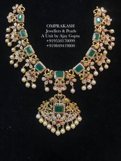 The Most Loved Necklace customized with Detachable Locket.A very Pretty Combination(Necklace Choker Locket) 07 August 2018 Gold Wedding Jewelry, Bridal Jewelry, Gold Jewelry, Quartz Jewelry, Beaded Jewelry, Gold Earrings Designs, Gold Jewellery Design, Pandora, Emerald Jewelry
