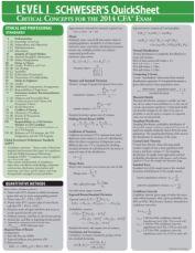 CFA Level 1 Quicksheet 2014All books about CFA USA http://freeaccountingbooks.com/cfa-usa/