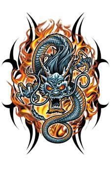 Значения татуировок драконов