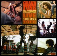 grand funk album cover | Grand Funk Railroad: Live The 1971 Tour (2002) [FLAC]