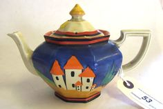 Clarice Cliff Teapot