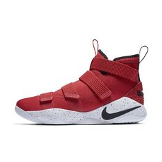 1b09aae26188 Nike LeBron Soldier XI Men s Basketball Shoe Size 12.5 (Red) Best  Basketball Shoes