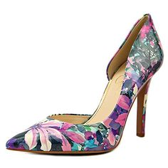 Jessica Simpson Claudette Women US 9 Purple Heels -- Find out more by clicking the VISIT button