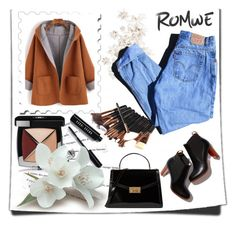 """""""Romwe"""" by ajisa-ikanovic ❤ liked on Polyvore featuring Tory Burch, Katie, Chanel, Bobbi Brown Cosmetics and Levi's"""