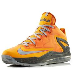 The LeBron 11 Low releasing this weekend in a new Atomic Mango colorway.  See the official photos on Sneakernews.com
