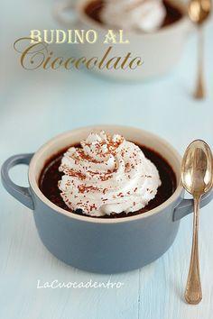 Budino al cioccolato di Luca Montersino - La Cuoca Dentro