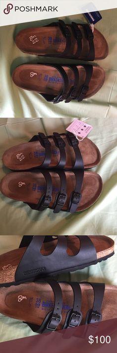 Birkenstock sandals size 8 Black Birkenstocks. Size 8. Good condition. Shoes Sandals