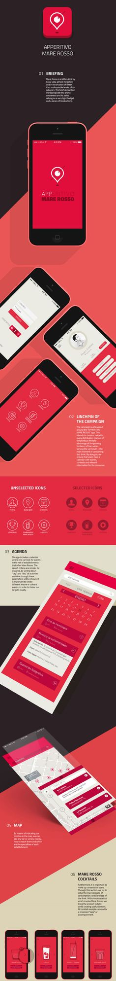Mare Rosso mobile application design - #ux #ui