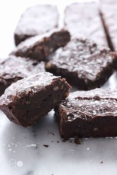 Chewy Cocoa Brownies -- alice medrich's recipe, simplified